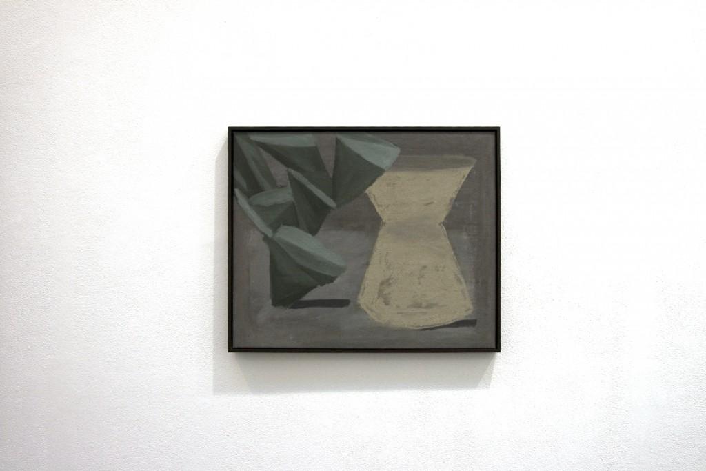 """The leaving"", 46X56cm, oil, canvas, 2013"