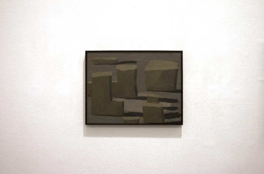 """""""The migration"""", 25X30cm, oil, canvas, 2012"""