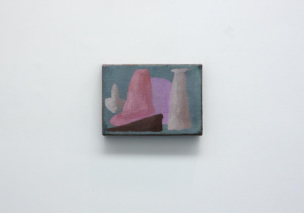 """Philip's foot"", oils on canvas, 16 x 22 cm, 2012"