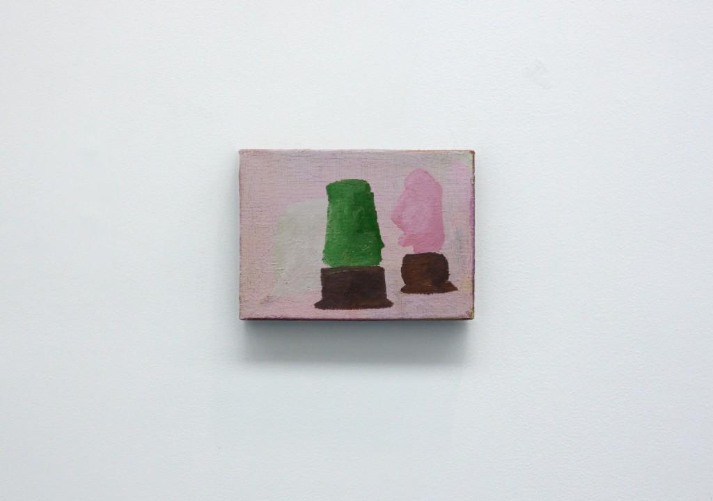 """""""The rear garde"""", oils on canvas, 16 x 22 cm, 2012"""