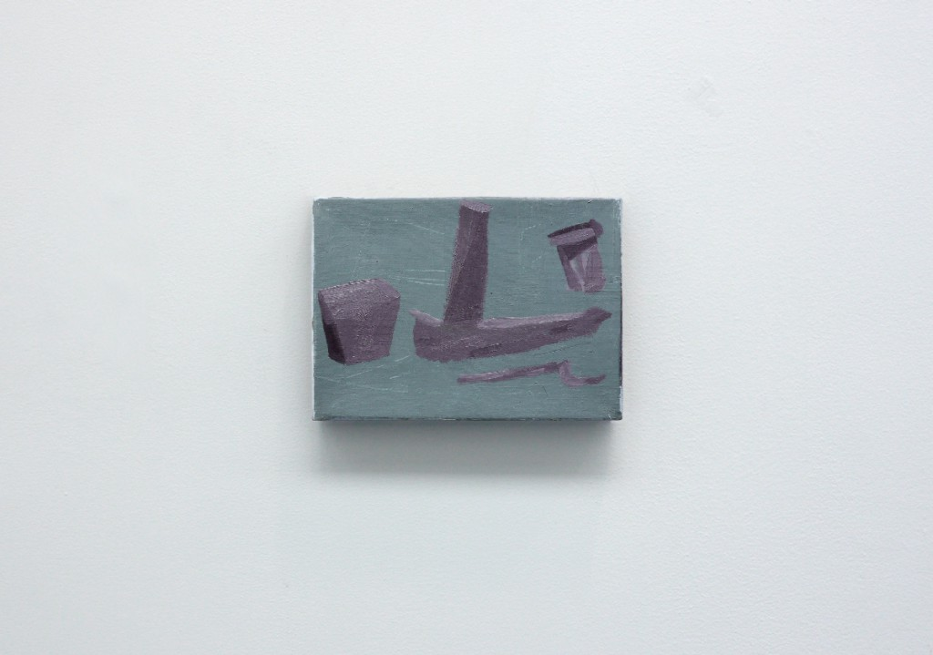 """The vanguard"", oils on canvas, 16 x 22 cm, 2012"